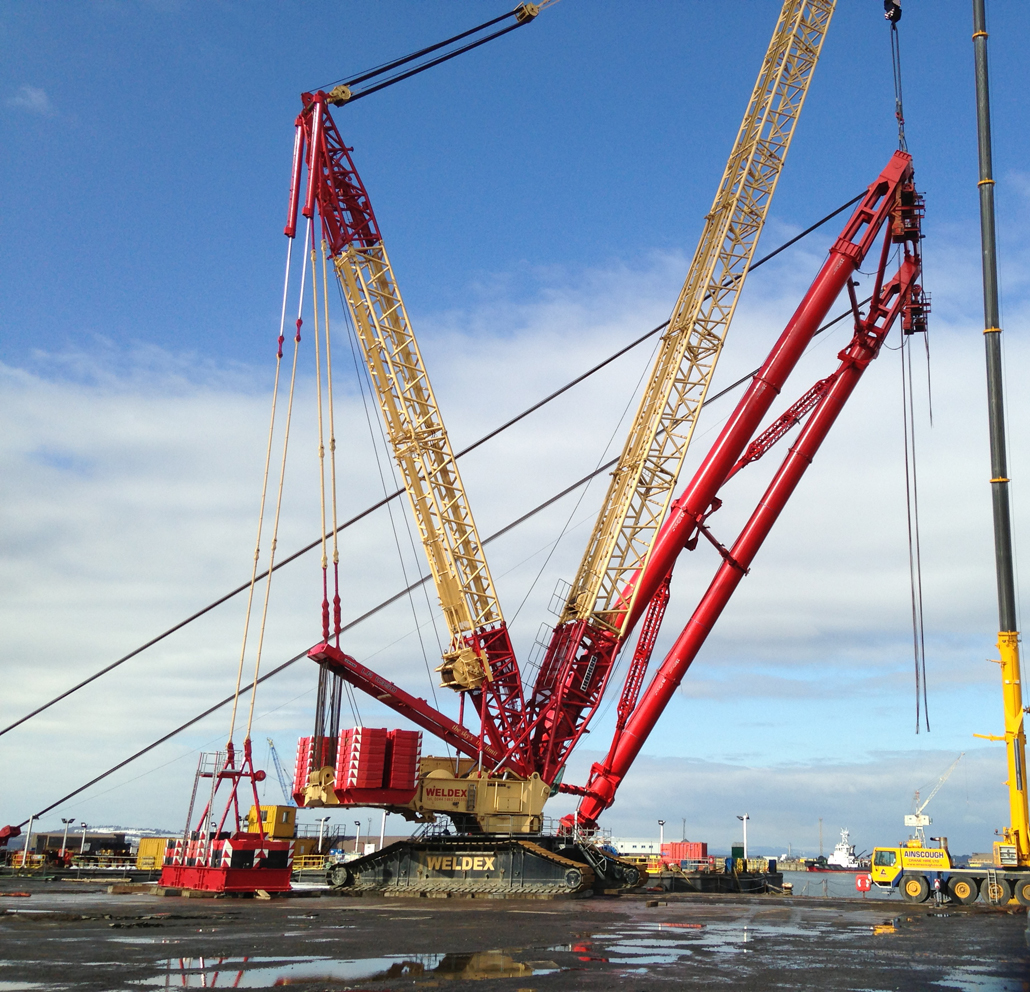 dwls aframe crane lift