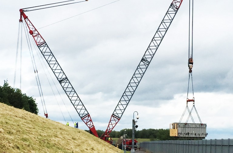 dwls crane lift