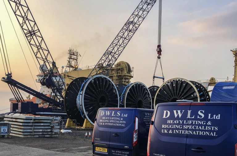 DWLS Heavy Crane Lifting and Riging Dundee